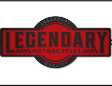 Legendary Motorcycles Cafe Racer Logo