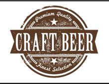 Vintage Style Craft Beer Logo
