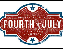 Vintage Fourth of July Design